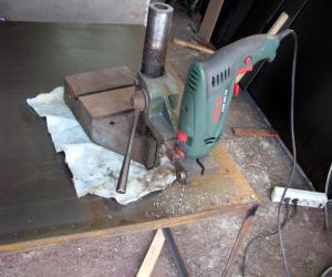 Инструмент для сверления квадратных отверстий